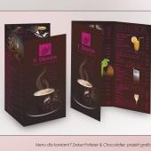 menu deker projekt i wydruk